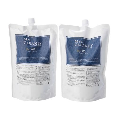 ミセスクレンリー ミセスクレンリー除菌・抗菌・消臭もできるダニよけスプレー詰替え用パウチ2本セット(清掃用具 洗濯・ハウスクリーニング用品 ホーム・インテリア)の画像