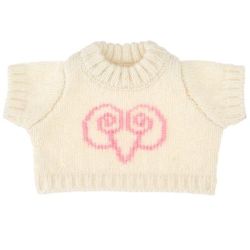 マイカシミヤ マイカシミアカシミヤの赤ちゃんベア用セーターの画像