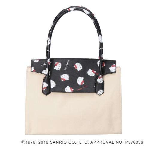 サンリオ ハローキティ×ニーナウチダトートバッグ(その他 ドール・キャラクターグッズ コレクターズ・お花)の画像