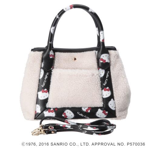 サンリオ ハローキティ×ニーナウチダ2ウェイミニトートバッグ(その他 ドール・キャラクターグッズ コレクターズ・お花)の画像