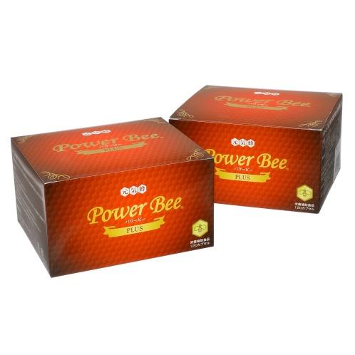 """パワービー 神秘の蜂パワー! 蜂の子サプリ """"パワービープラス"""" 2箱セット(カプセル 美容サプリメント・栄養補助食品 美容・ダイエット・フィットネス)の画像"""