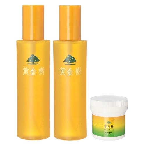 黄金樹a 薬用育毛剤ローション ビッグサイズ 2本特別セット