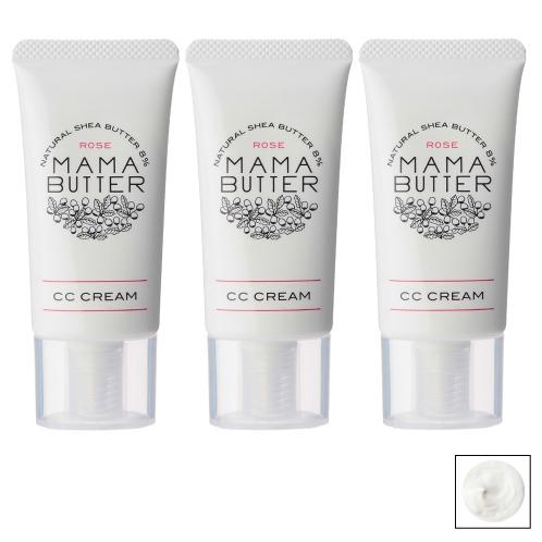 ママバター ママバターCCクリーム ローズ3本セットの画像
