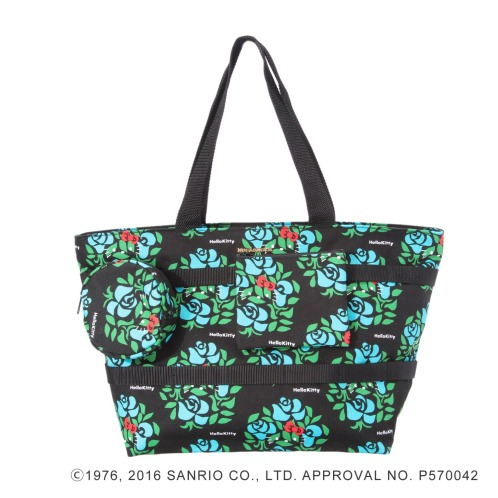 サンリオ <S>ハローキティ×メアリー・モアポーチ2個付トートバッグ(その他 ドール・キャラクターグッズ コレクターズ・お花)の画像