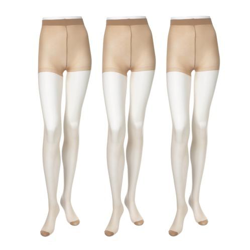 スアシノキセツ 素足の季節ストッキング同色3足セット(ストッキング・靴下 ファッション)の画像