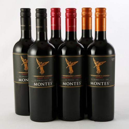 エノテカ エノテカ厳選 モンテスワインメーカーズチョイス赤ワイン3種6本セット(お酒 グルメ・お酒)の画像
