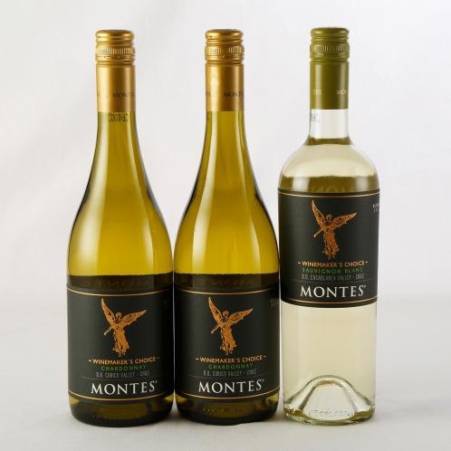 エノテカ エノテカ厳選 モンテスワインメーカーズチョイス白ワイン2種3本セット(お酒 グルメ・お酒)の画像
