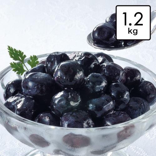 ショップオススメフルーツ&ベジタブル <1.2kg>大粒! 冷凍デザートブルーベリーの画像