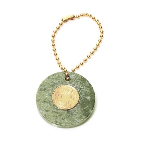 マヤマヤ マヤマヤ幸運のコインのお守り! 財運の1ペニーコイン&コネマラマーブルバッグチャームの画像