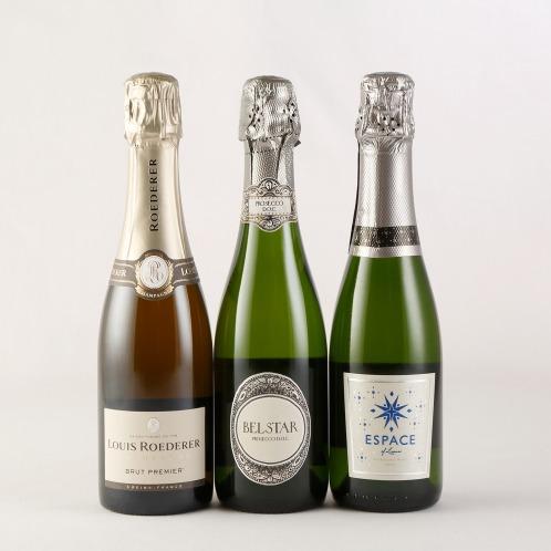 エノテカ エノテカ厳選スパークリングハーフワイン3本セット(お酒 グルメ・お酒)の画像
