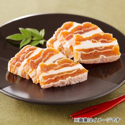 希少バターをサンド! 市田柿ミルフィーユ(惣菜・パン・その他 グルメ・お酒)の画像