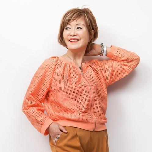 ミナコ ヨコモリ ミナコ★ヨコモリメッシュレースジップアップブルゾン(ジャケット ファッション)の画像