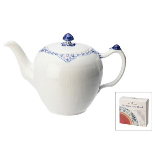 ロイヤルコペンハーゲン ロイヤル コペンハーゲンプリンセスティーポット紅茶付セット(陶器 テーブルウェア ホーム・インテリア)の画像