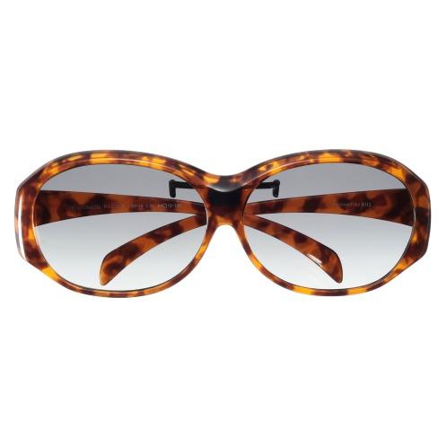 メガネの上にかけられるサングラスアイブレラ プラスファイン