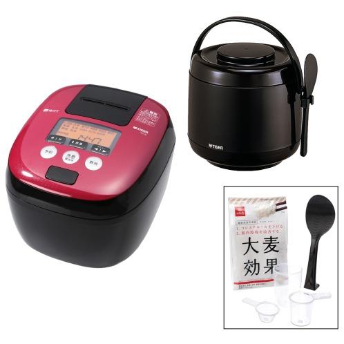 タイガー <5.5合> タイガー 熱流&熱封 土鍋コーティン …¥82982の在庫を確認する