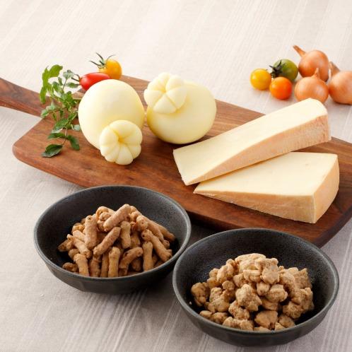 ハナバタケボクジョウ 花畑牧場自家製チーズとしみ込みお菓子4種セット(惣菜・パン・その他 グルメ・お酒)の画像