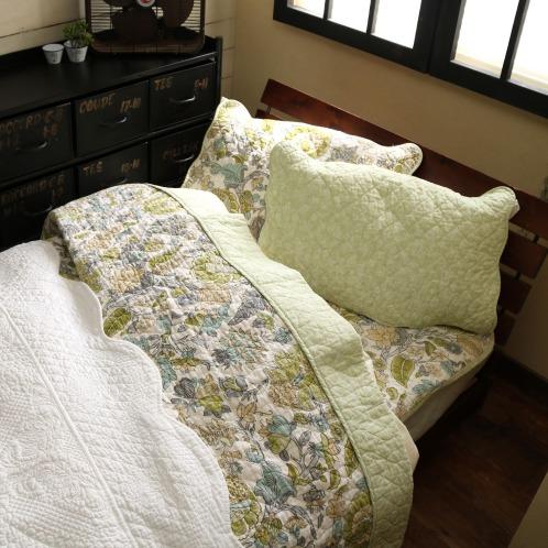 オオツケオリ 大津毛織プロヴァンスデザインやわらかコットン枕パッド2枚セット(寝具 ホーム・インテリア)の画像