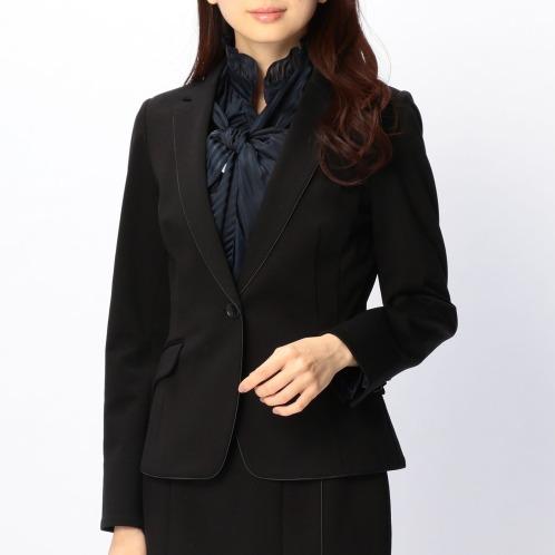 ナラカミーチェ ナラカミーチェポンチパイピングアクセントテーラードジャケット(ジャケット ファッション)の画像