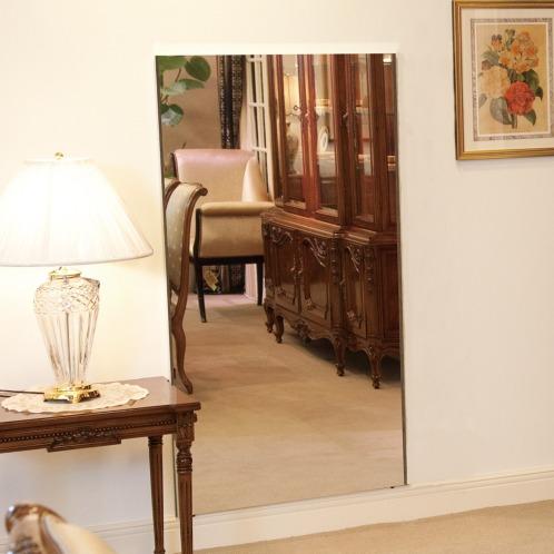 リフェクスミラー <L>割れない鏡 リフェクスミラー(その他 ホーム・インテリア)の画像