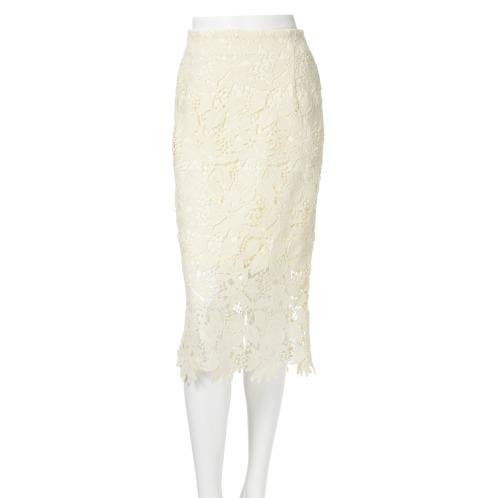 シュガーローズ シュガーローズ総レースタイトスカート(スカート ファッション)の画像