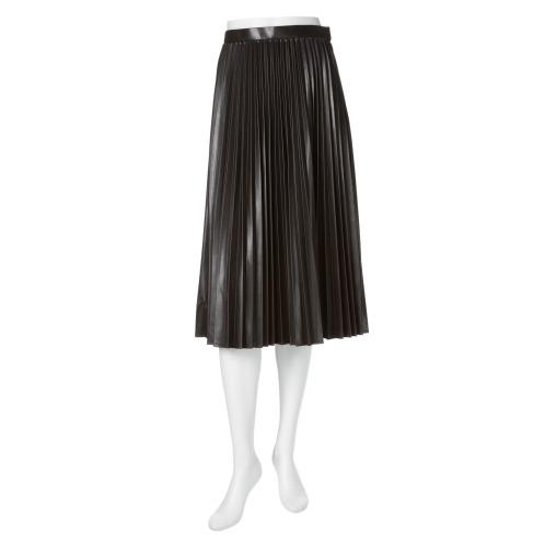 ラキエ ラキエフェイクレザープリーツスカート(スカート ファッション)の画像