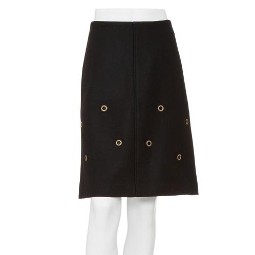 デイ アンド グレイド デイ アンド グレイドメルトンハトメドットアクセントスカート(スカート ファッション)の画像