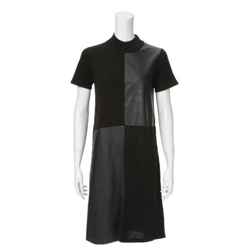 ナフナフ ナフナフ異素材コンビネーションワンピース(ワンピース ファッション)の画像