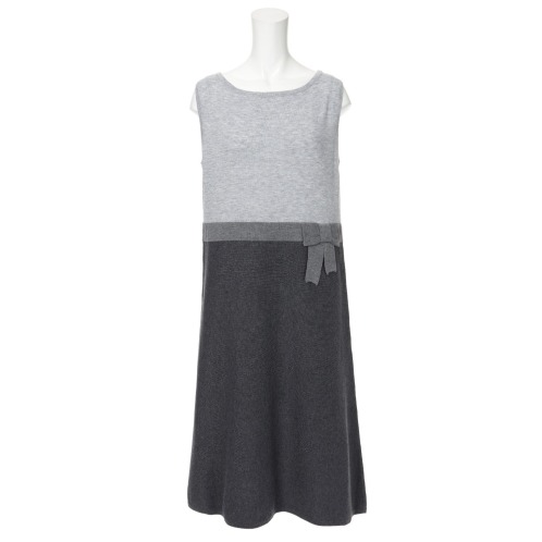 ペンナ フェリーチェ ペンナ フェリーチェ切替デザインニットワンピース(ワンピース ファッション)の画像