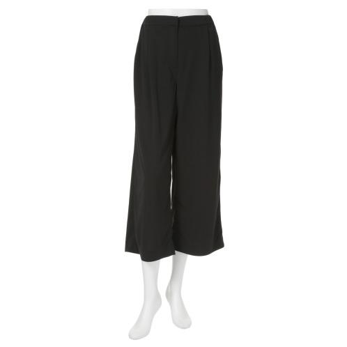 マージ マサトモ ブラックレーベル マージ マサトモブラックレーベルワイドクロップトパンツ(パンツ ファッション)の画像