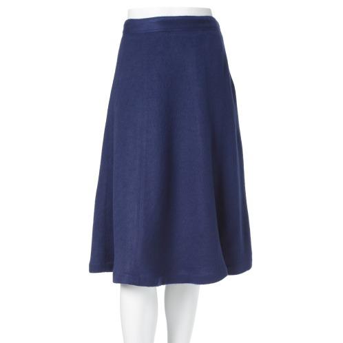 スウォナーレ スウォナーレミモレ丈フレアースカート(スカート ファッション)の画像