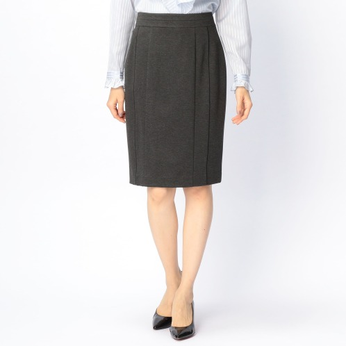 ナラカミーチェ ナラカミーチェポンチパイピングアクセントタイトスカート(スカート ファッション)の画像