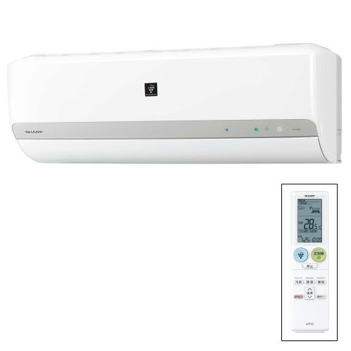 シャープ <冷暖房とも主に8畳>シャープ高濃度プラズマクラスター25000搭載ルームエアコンAY−G―Cシリーズ(シ−ズン家電その他 空気清浄機・加湿・除湿・冷暖房 家電・エレクトロ)の画像