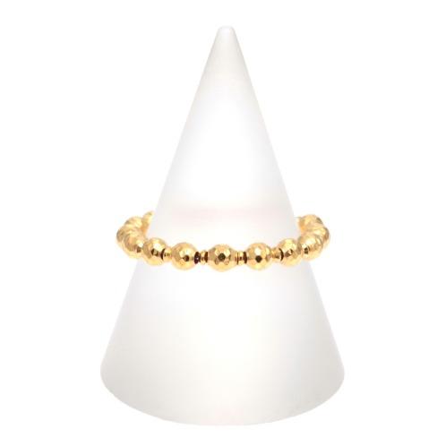 ラピュアバイチェーンクリエイト ダイヤモンドカットパーツスライドチェーンリング(プラチナ リング ジュエリー)の画像