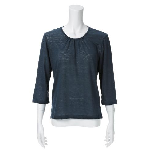 ココンライフ ドゥ ココンライフ ドゥ麻100%ギャザーアクセントプルオーバー(スポーツファッション ファッション)の画像