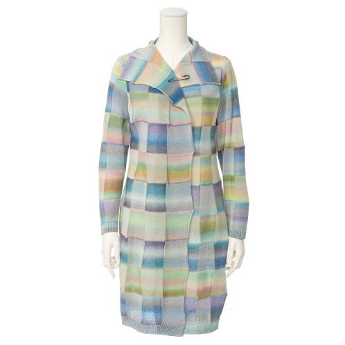 ボア デ ブローニュ ボア デ ブローニュカブトピン付カーディガン(セーター ファッション)の画像