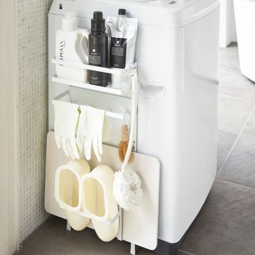 ヤマザキジツギョウ マグネット付洗濯機横収納ラック(ファッション雑貨 ホーム・インテリア)の画像