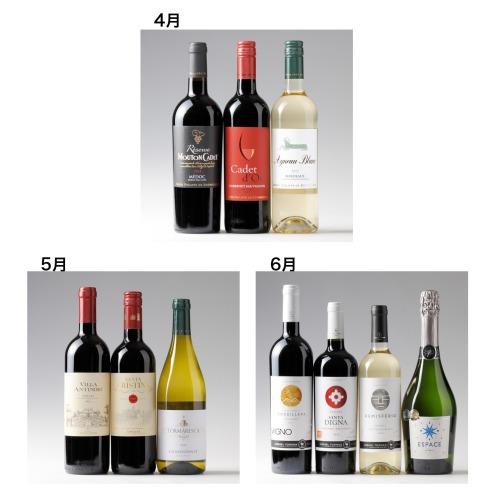 エノテカ エノテカ厳選 世界のワイン3ヶ月頒布会(お酒 グルメ・お酒)の画像
