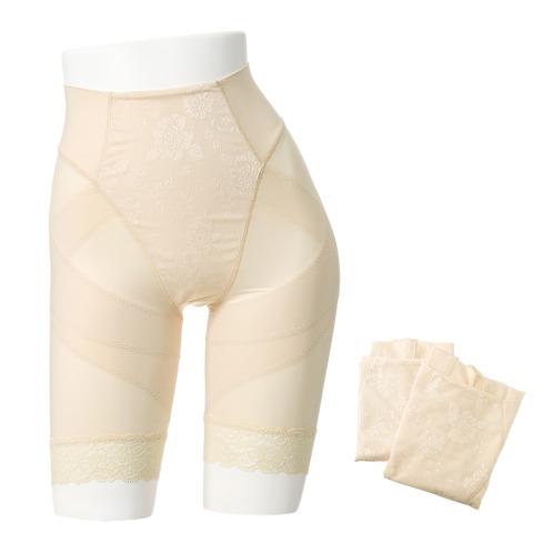 アシヤビセイタイ 芦屋美整体骨盤スッキリショーツ同色3枚セット(フィットネスウェア 美容・ダイエット・フィットネス)の画像