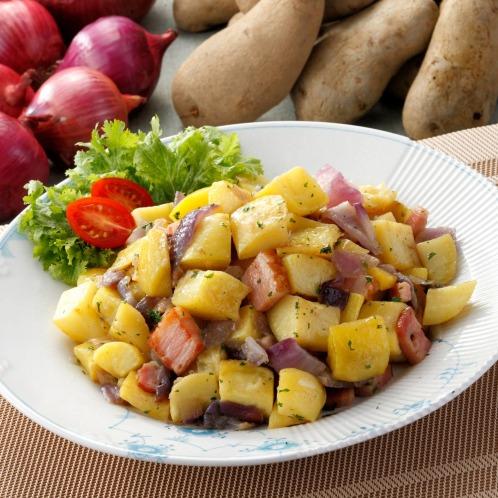 カゲヤマユキノオススメ じゃがいもとトロペア赤玉ねぎのグリル野菜ミックス(惣菜・パン・その他 グルメ・お酒)の画像