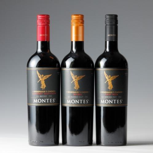 エノテカ エノテカ厳選 モンテスワインメーカーズチョイス赤ワイン3種3本セット(お酒 グルメ・お酒)の画像