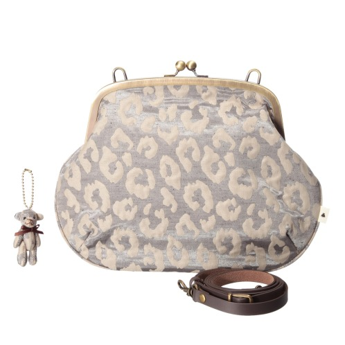アヤノコウジ あやの小路口金式ポシェット(バッグ おしゃれ雑貨 コレクターズ・お花)の画像