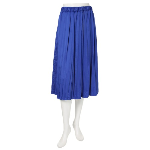 ラ ヴァーグ デトワール ラ ヴァーグ デトワールランダムプリーツデザインフレアースカート(スカート ファッション)の画像