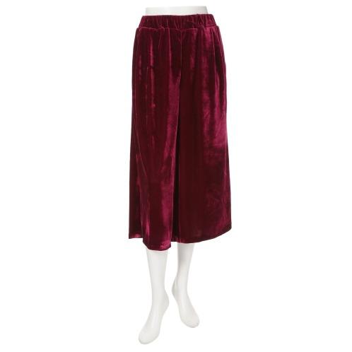ラ ヴァーグ デトワール ラ ヴァーグ デトワールベロアワイドパンツ(パンツ ファッション)の画像