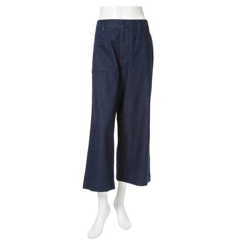 シュガーデプト シュガーデプトサテンデニムワイドパンツ(パンツ ファッション)の画像
