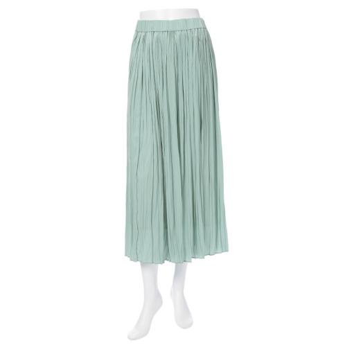 ハモントン ハモントンプリーツデザインマキシスカート(スカート ファッション)の画像