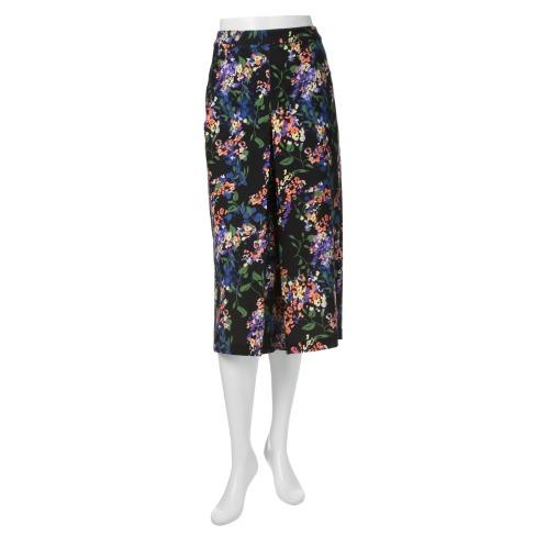 ミッテンテ ミッテンテハイテンションモナリザプリントガウチョパンツ(パンツ ファッション)の画像