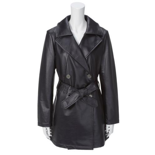 スプーム <無地>スプーム ジャージー トレンチコート(コート ファッション)の画像
