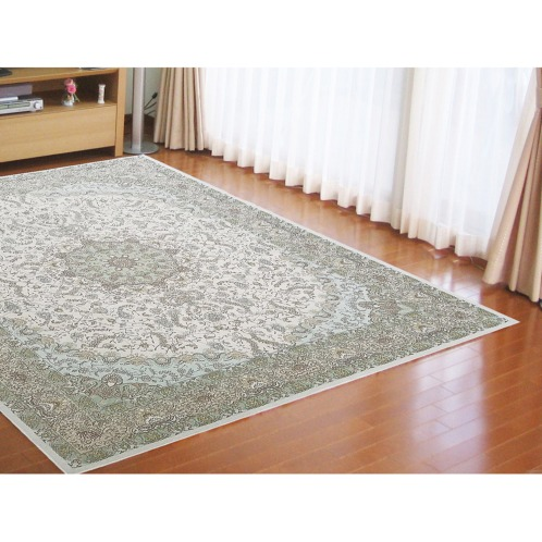 カネヨウ <140×200cm>シェニール糸で織り上げたベルギー製ジャガード織カーペット(インテリア ホーム・インテリア)の画像