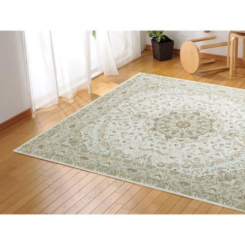 カネヨウ <240×330cm>シェニール糸で織り上げたベルギー製ジャガード織カーペット(インテリア ホーム・インテリア)の画像