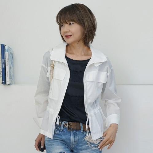エムズスタイル エムズ スタイルコットンライトフーディーブルゾン(ジャケット ファッション)の画像